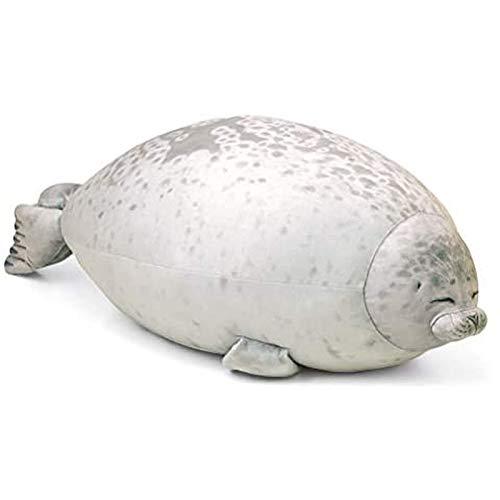 Dlcvko Fat Spots Sealing Plush Toy Cotton Filled Pillow Plush Toy Ocean Animal Pillow Sofa Back Deco Children Toys Gift