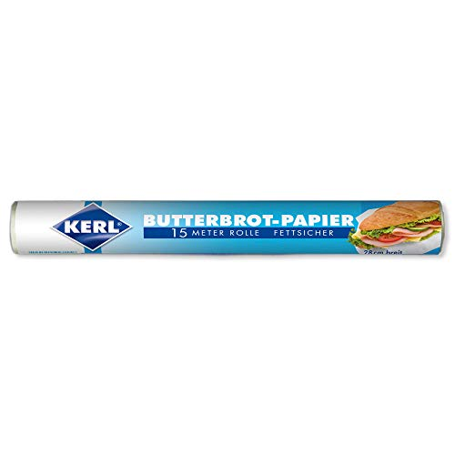 KERL Butterbrot-Papier 28 cm, 15 Meter, Rolle