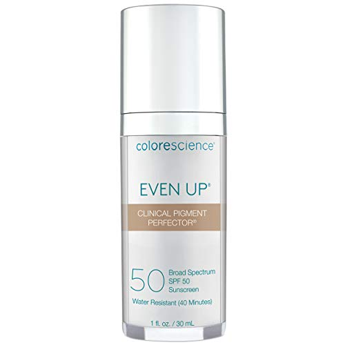 Colorescience Even Up Clinical Pigment Perfector, Water Resistant, Mineral Facial Sunscreen &...