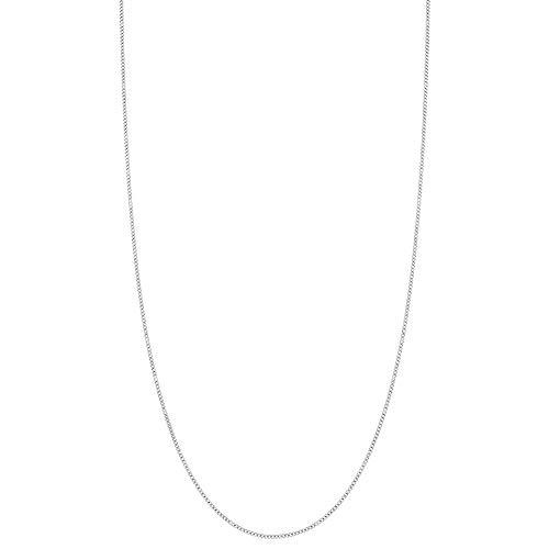 Gliederkette Sterling-Silber 925 1 mm dünn 46 cm