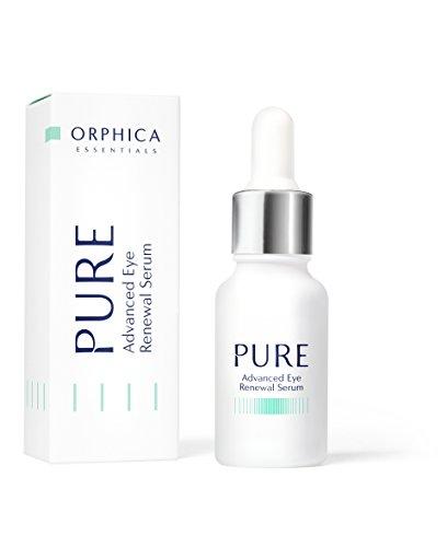 ORPHICA PURE Augenserum, gegen Augenringe und Falten, Anti-Aging Wirkung, Augenpflege, Straffende Serum für das Gesicht mit Vitamin, Augencreme für Frauen und Herren, Antifalten Cosmetics, 15 ml