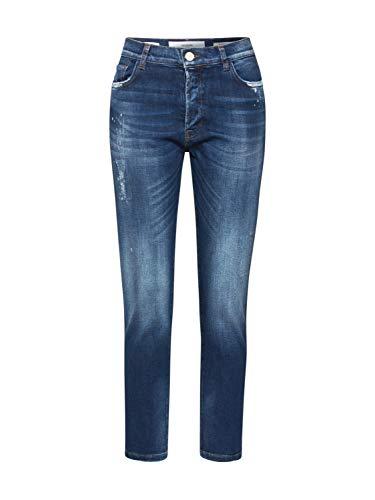Goldgarn Damen Jeans Augusta I Tappered blau 24
