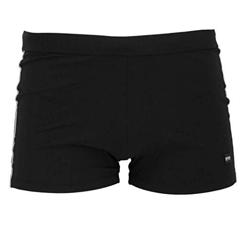 BOSS Hugo Swimwear Badepant Oyster Badehose schnell trocknend Schwarz/Black S