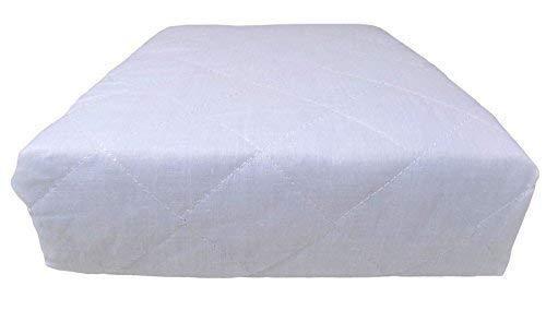 4 x double qualité Hôtel Matelassé Luxe Blanc Profond monté anti allergénique Protège matelas 137 x 191 x 25cm