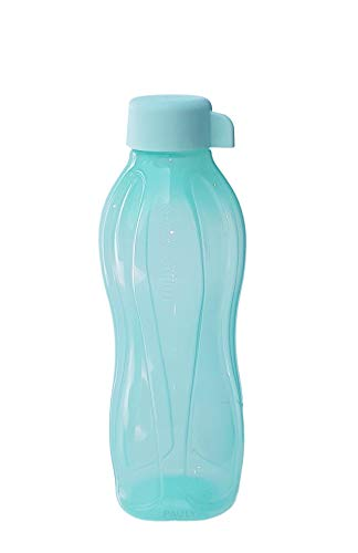 Tupperware® EcoEasy 500 ml Trink-Flasche türkis C136 Eco-Easy Wasser Saft Sport NEU+OVP