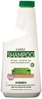 Kirby 252602S Allergen Control Formula Foaming Carpet Shampoo, 12 Oz