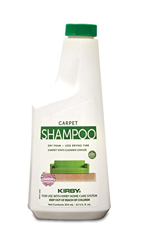 Kirby 252602S Allergen Control Formula Foaming Carpet Shampoo, 12 Oz