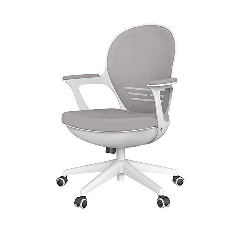 ZOUSHUAIDEDIAN Silla de oficina, silla de juegos, silla ergonómica de oficina, silla de oficina en casa con asiento deslizante, silla de escritorio con soporte lumbar, silla de oficina para oficina, h