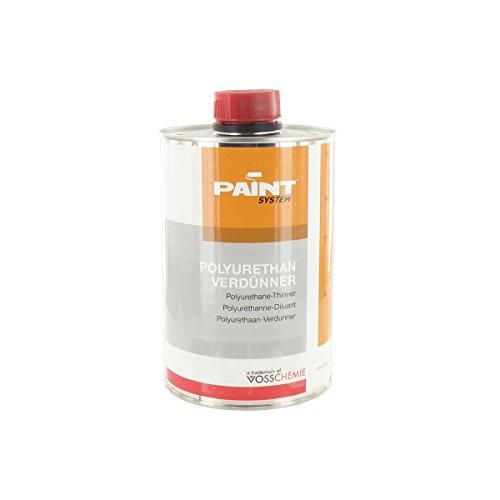 AMZN! Verdünnungsmittel für Lacke, aus PU, G4, G8 Vosschemie 1 L