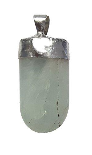 KRIO® - Aquamarin Sonderschliff als Anhänger mit Zinnfassung
