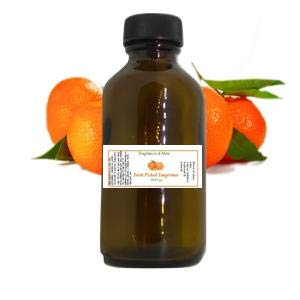 FRESH PICKED TANGERINES FRAGRANCE OIL | For Perfume| For Soap Making| Candle Making| For Diffusers| Add to Bath & Body Products| Home and Office Scents| 2 oz amber glass bottle