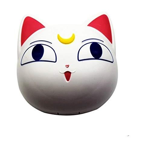 Lentillero estuche lentes de contacto diseño gato blanco kit completo viajes, gimnasio,...