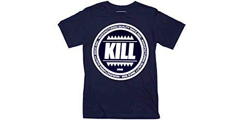Kill Brand - Swag Logo Circle (blue) (T-Shirt Unisex Tg. S) [Italia]