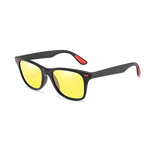 JIAGU Gafas de Sol de Estilo Protección contra los Rayos UV de Color polarizado conduciendo Gafas de Sol Deportivas. (Color : A2, Size : Free Size)