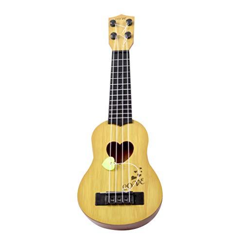 SUPVOX Concert ukulélé guitare hawaïenne à 4 cordes pour débutants et professionnels