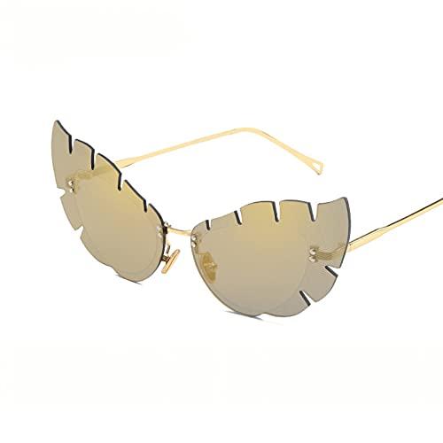 LUOXUEFEI Gafas De Sol Gafas De Sol Mujer Gafas De Sol Sin Montura Hombres Gafas De ConducciónGafas