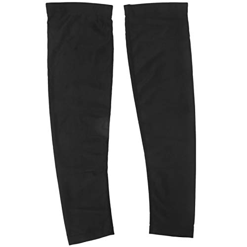 FOLOSAFENAR Tira epóxica Antideslizante Que Absorbe el Sudor Mantiene Calientes Las Mangas de Las piernas, para Conducir(Sun Protection Leg Cover)