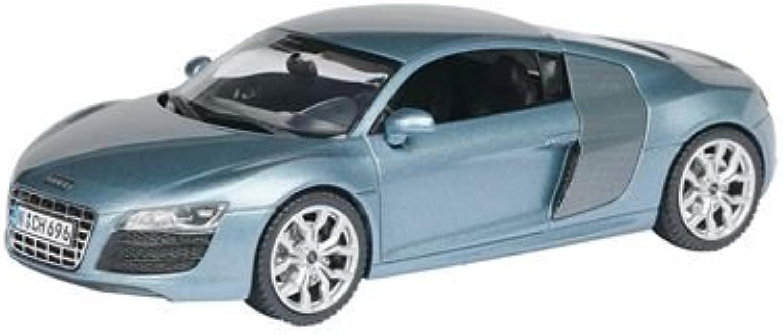 Schuco 450476600 - Audi R8 V10, jetblau metallic, Sammlermodell, 1 43 B00243H8OW Spielzeugwelt, glücklich und grenzenlos   Online-verkauf