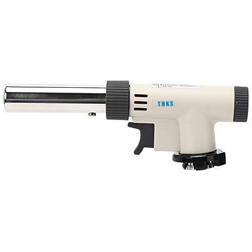 Antorcha de gas portátil de encendido de tipo de presión ajustable para barbacoa al aire libre 1300 ℃ ZD-08F Antorcha de gas portátil
