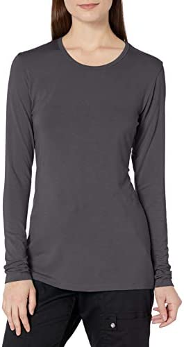 Cherokee Women s Long Sleeve Knit Shirt Pewter Large product image