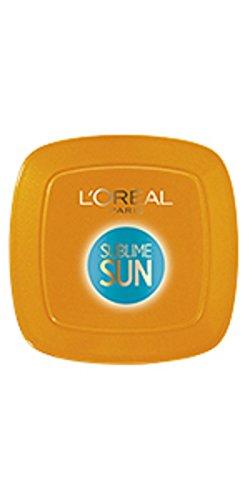 L Oréal Paris Protezione Solare Abbronzante Sublime Sun Protect & Sublime, Protezione Alta IP30 per Viso e Décolleté, Formula Compatta in Polvere, 9 g