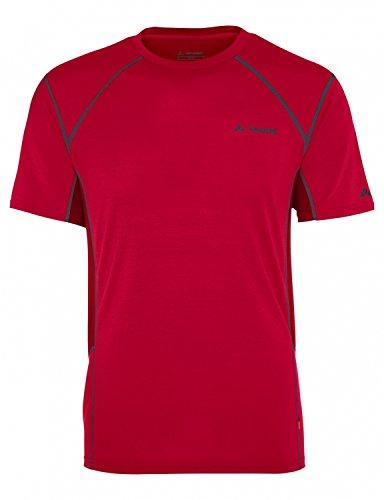 T-shirt technique SIGNPOST II Homme - Rouge, XL