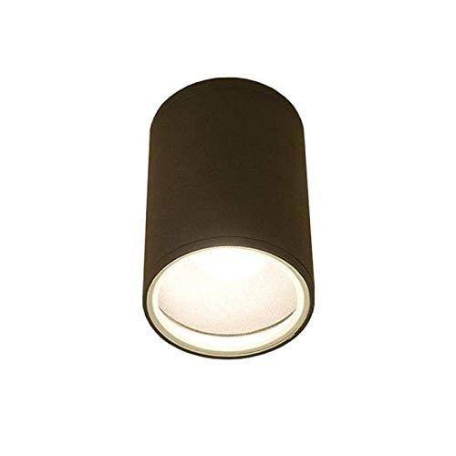 FOG buitenplafondlamp lichtladen modern aluminium/glas antraciet buitenlamp plafondlamp buitenlamp E27 60W