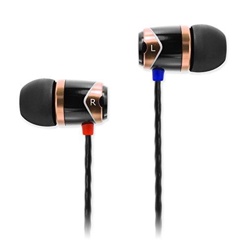 SoundMAGIC E10 High Fidelity Kopfhörer Smartphone Earbuds In Ear Kopfhörer Hochwertige Ohrhörer mit Noise Reduction - Gold