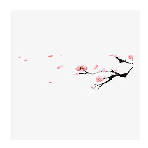 N/B njmmbt Pfirsichblüte Blütenblätter Alten Stil chinesischen Feng Shui Tinte künstlerische Stimmung Dekoration Wandbild