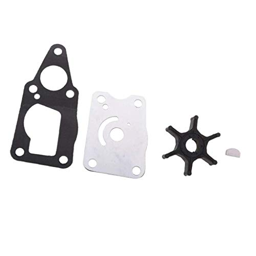 SSI Marine WATER PUMP IMPELLER KIT FOR SUZUKI OUTBOARD 4HP 5HP 6HP 4 STROKE 17400-98661