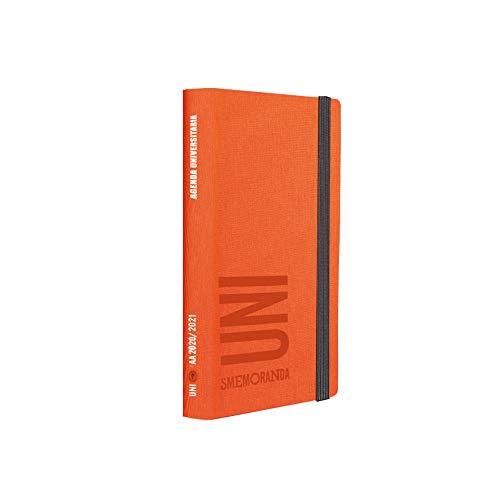 Uni Smemoranda - Agenda 2020/2021 Giornaliera - Arancione - 12,5x18,5cm