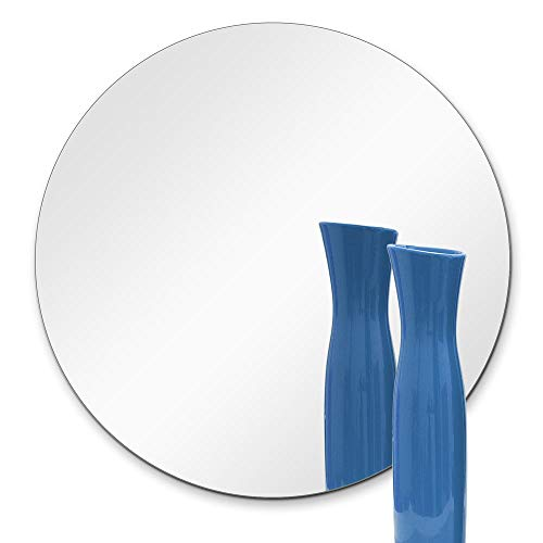 TroySys Glass Table Mirrors for Wedding and Party Centerpieces, Round, 12' L