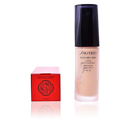 SHISEIDO Flüssige Foundation Synchro Skin Neutral N°4 20 SPF 30 ml