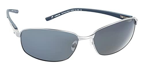 HEAD Gafas de sol deportivas para hombre con protección UV 400 62-16-135 - 12009, Modelo 1,