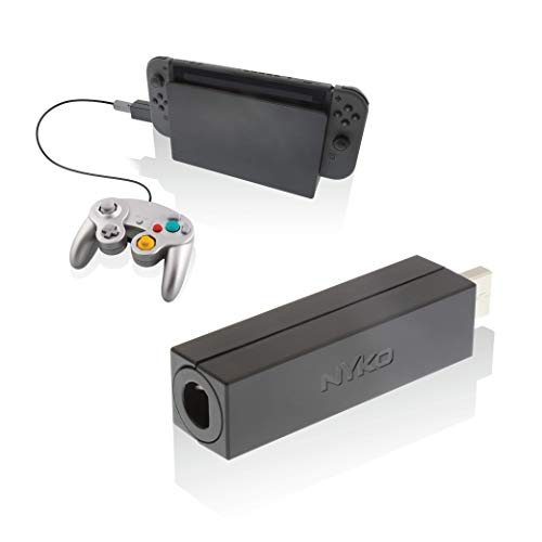 Nyko Retro Controller Adapter - Play Your Favorite Nintendo Switch Games with Your Gamecub Controllers - Single Controller USB Wired Adapter - Nintendo Switch