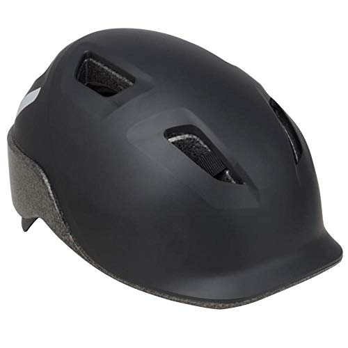 Bicycle helmet city riding daily commuting helmet integrated forming mountain bike equipped with safety helmet-One size_Black L code 59-63cm