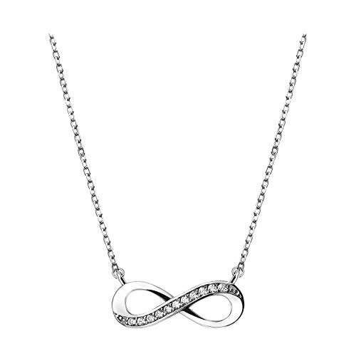 SOFIA MILANI Damen Halskette Unendlich Infinity Silber 50208