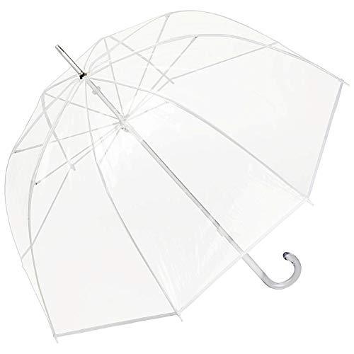 VON LILIENFELD paraplu paraplu transparant doorzichtig dames heren melina wit
