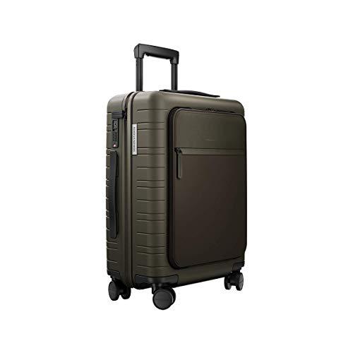 HORIZN STUDIOS M5 Essential Maleta de Cabina (33 L) para Viajes de 2 a 3 días. (Dark Olive, S | M5 | 55 Cm)