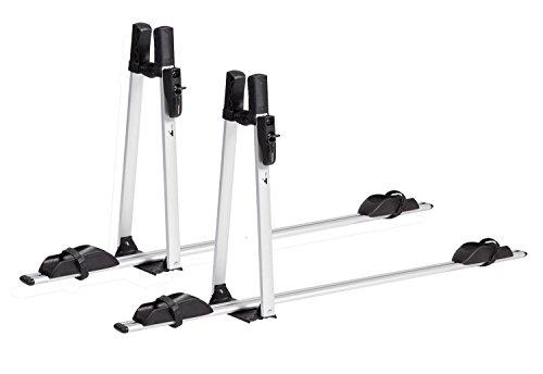 VDP Fahrradträger ALU Premium Dach Fahrradhalter Fahrrad Dachfahrradträger abschließbar (2X VDP Fahrradträger)