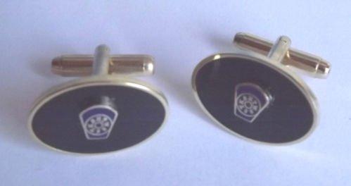 Marque Master maçonnique bleu Keystone ° 4 Boutons de manchette en acier