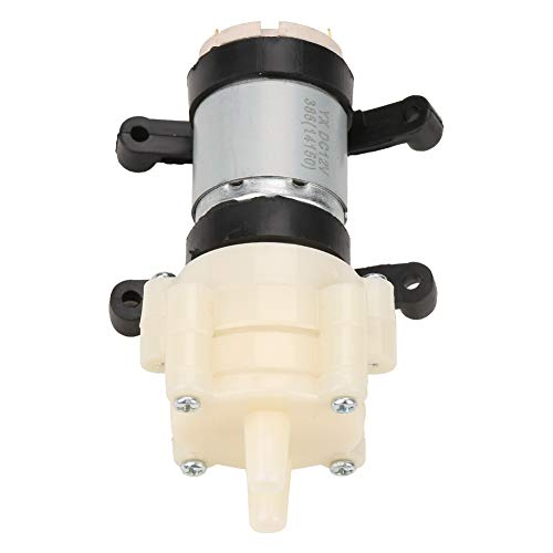 Watermembraanpomp, DC 12V mini elektrisch membraan waterzuigpomp zuiggebied max. 2m voor theemachine aquarium waterkoeling