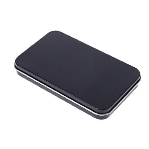 Case Cover Weißblechdose Aufbewahrungsbox Metall-organisator-Fall Für Make-up-doppelt-augenlid-Aufkleber Geld-münzen-Key-Geschenk-Kasten