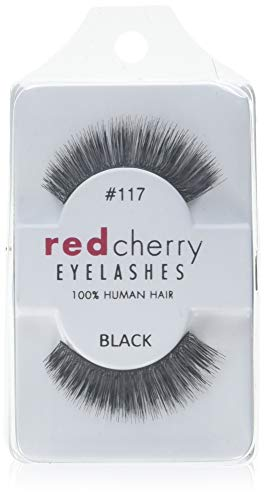 Red Cherry Wimpern # 117, 1 Paar