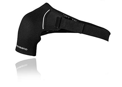 Rehband QD Shoulder Support L-Rechts Schulterbandage, schwarz