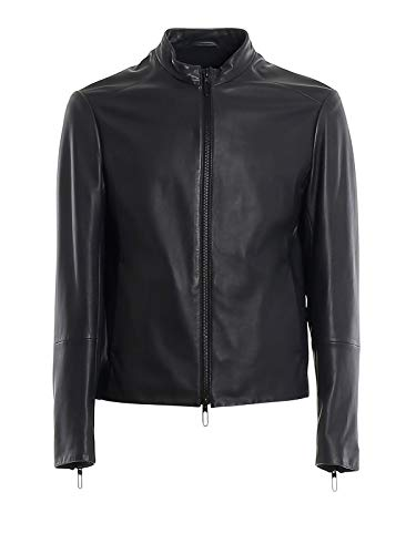 Emporio Armani Luxury Fashion Uomo 51B67P51P57922 Nero Giacca Outerwear | Primavera Estate 20