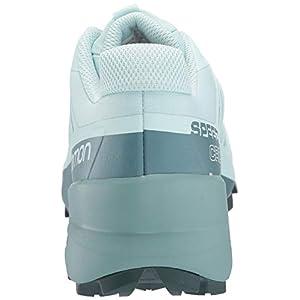 Salomon Women's Speedcross 5 Trail Running Shoe, Icy Morn/Hydro./GREEN GABLES, 9