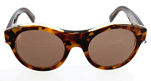 TOD'S TO0196 TOD'S SONNENBRILLE TO0196 Oval Sonnenbrille 50, Mehrfarbig