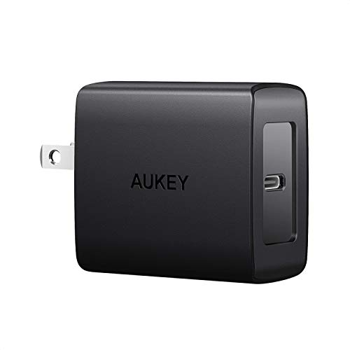 Cargador AUKEY PA-Y15 18W USB C  Foldable Plug & Power Delivery 3.0