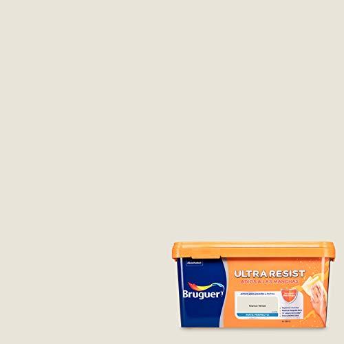 Bruguer ULTRA RESIST Pintura para paredes ultra lavable Blanco Lienzo 4L